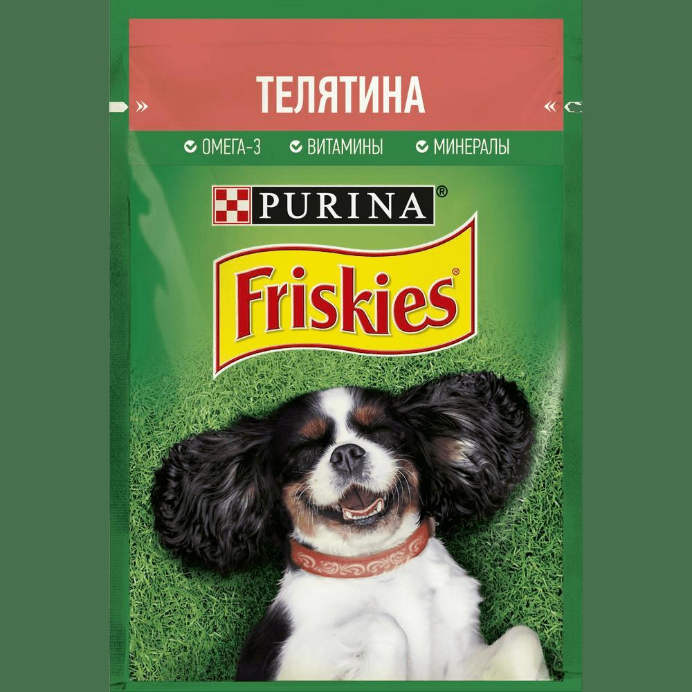 Friskies с телятиной